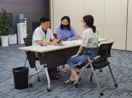 《健康中國,國康在行動》系列健康促進活動之走進微眾銀行