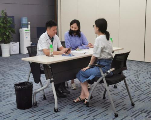 《健康中国,国康在行动》系列健康促进活动之走进微众银行